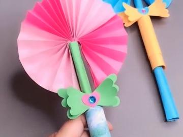 origami magic wand