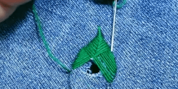 REPAIR DAMAGED jeans