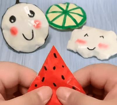 how to make a cute paper bag? DIY paper crafts
