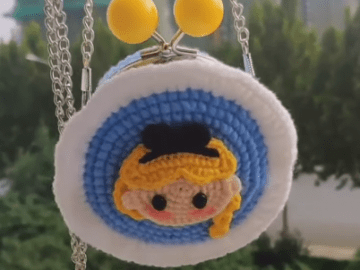 Amigurumi Doll Purse