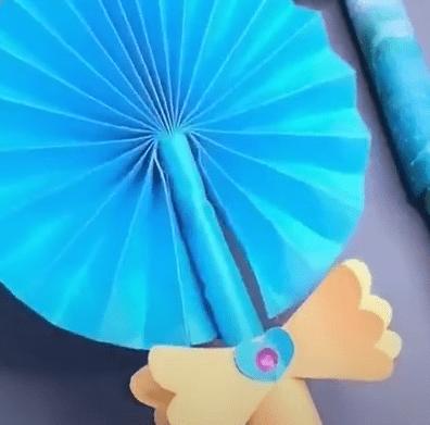 How to make origami Sailor Moon magic wand