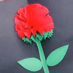 origami flower greeting cards