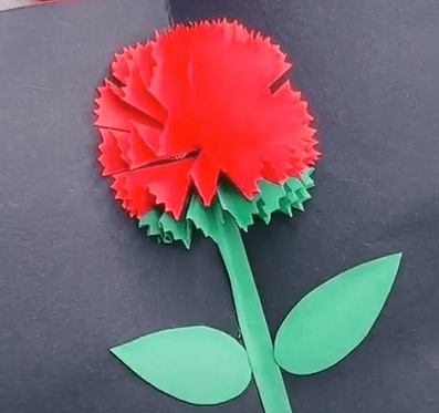 How to make origami flower greeting cards