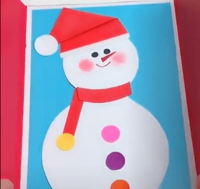 How to make a paper snowman [DIY Origami tutorial]