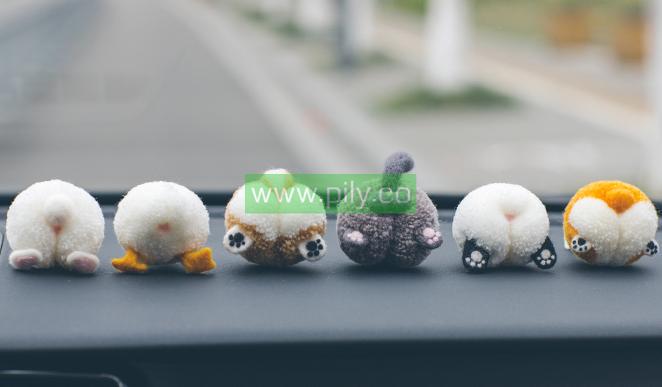 easy pom pom animals