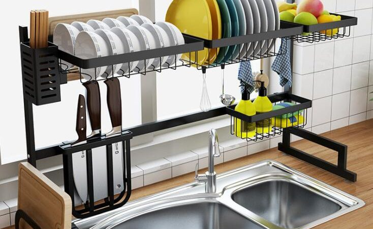 Why Should You Buy an Over the Sink Racks?