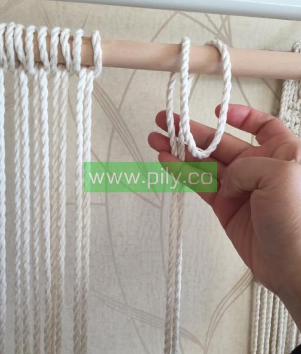 bohomacrame wall hanging tutorial