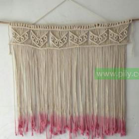 easy diy large macrame wall hanging