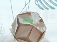 origami ball easy