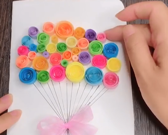 how to make origami flower bouquet step by step