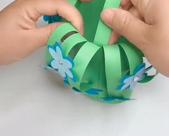 origami flower basket easy
