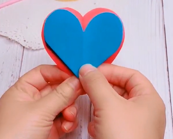 how to make an origami heart step by step with pictures