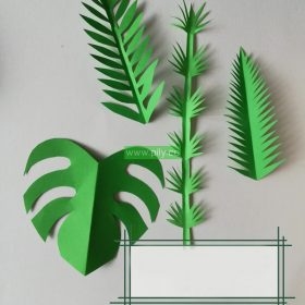 origami leaves instructions